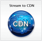 Epiphan streaming products stream to content distribution networks (CDN)s