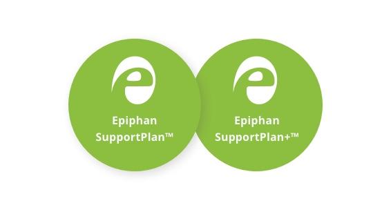Epiphan support plans logos