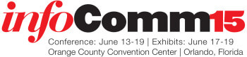 InfoComm 2015, the largest professional AV show in the world - Orange County Convention Center, Orlando Florida