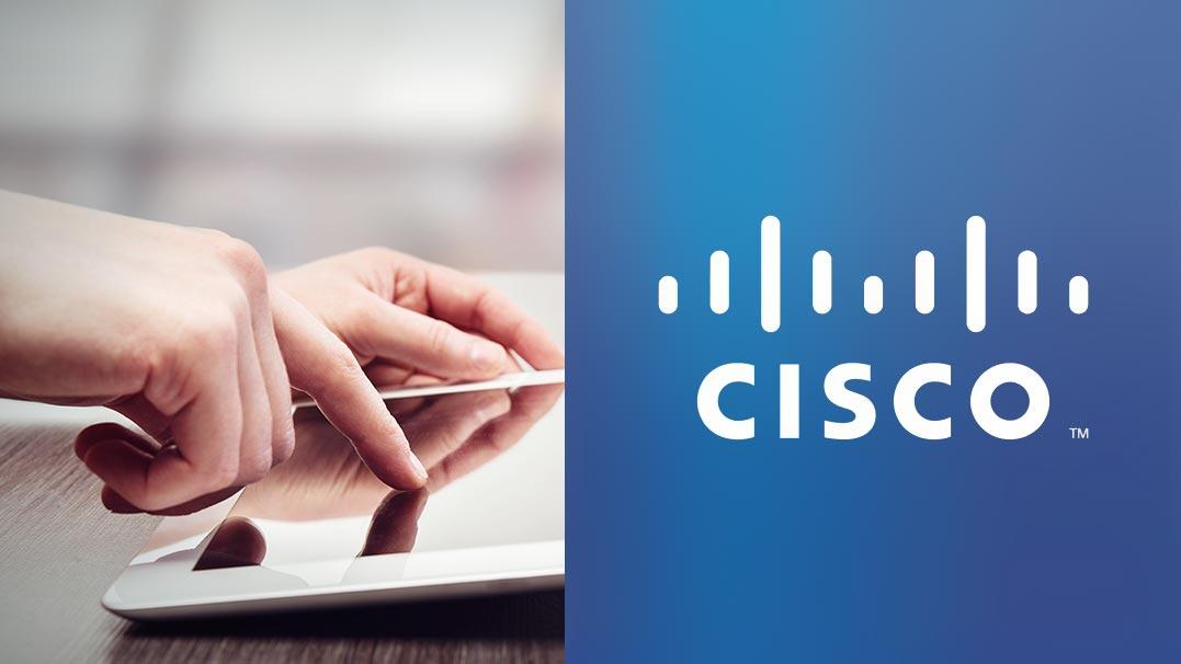 Share an iPad screen during a Cisco WebEx Meeting image