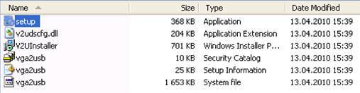 Windows File Explorer DVI2USB3.0 Setup