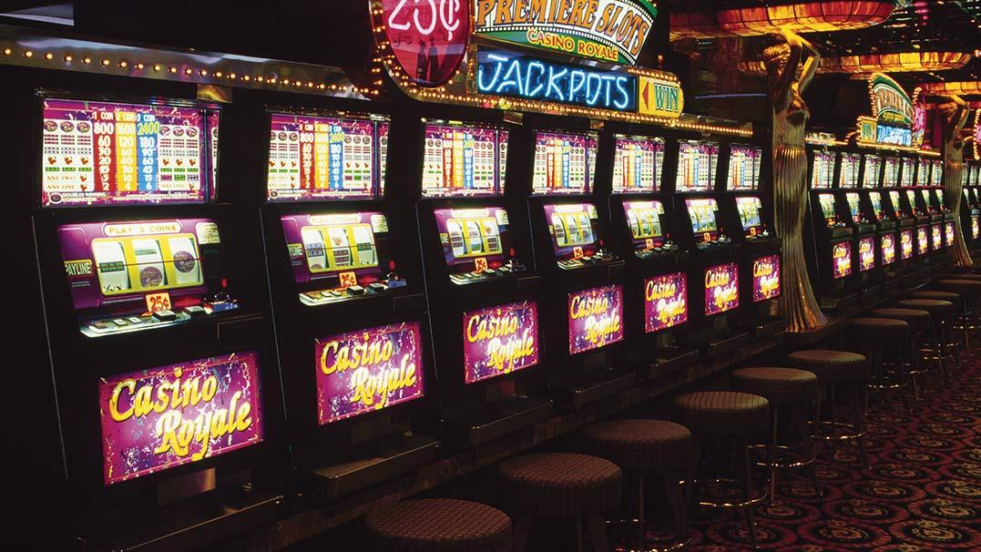 Recording stats on slot machines image