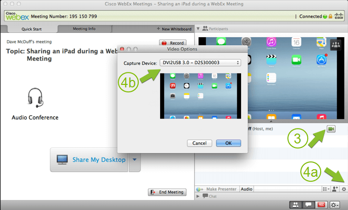 Video sharing with DVI2USB 3.0