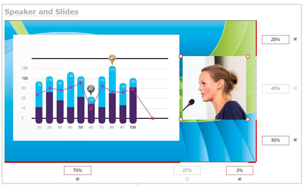 web_live_event_production_layout_slides_and_speaker_web_UI