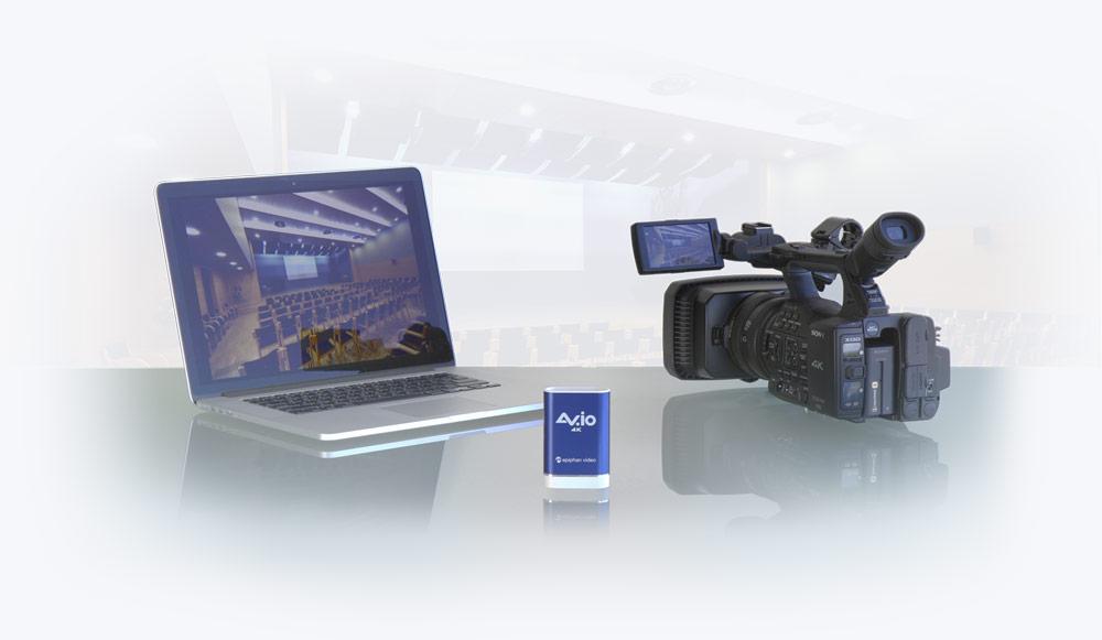 AV.io 4K capturing 4K video footage