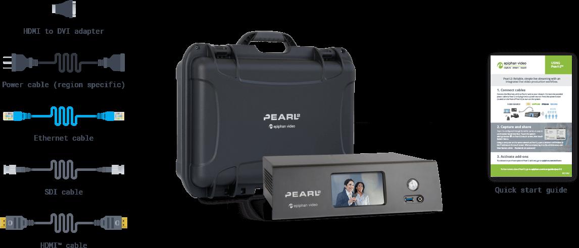 Pearl 2 Box Contents - Desktop