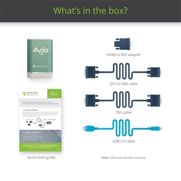 AV.io HD - What's in the box?