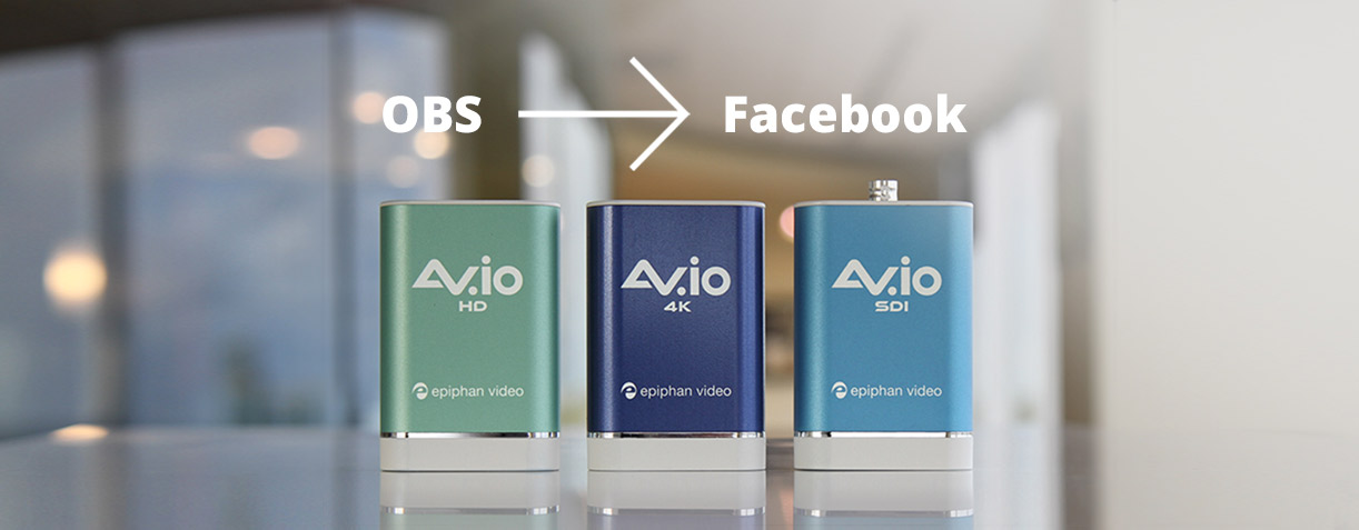 How to use OBS Studio to live stream a multi-source production to Facebook Live image