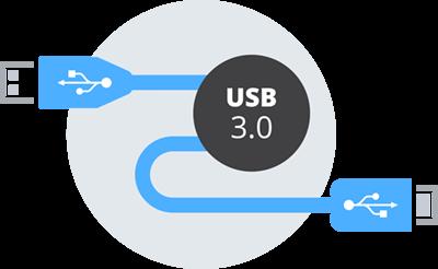 The USB advantage