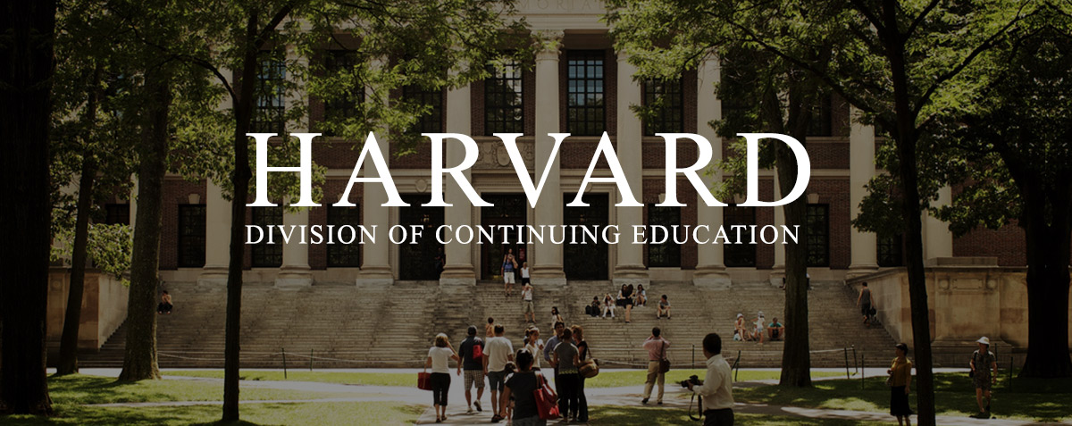 Best-in-class lecture recording at the Harvard Division of Continuing Education image