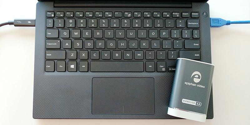 KVM2USB-3.0 with laptop