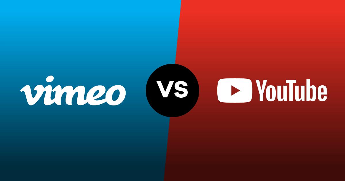Vimeo vs YouTube image