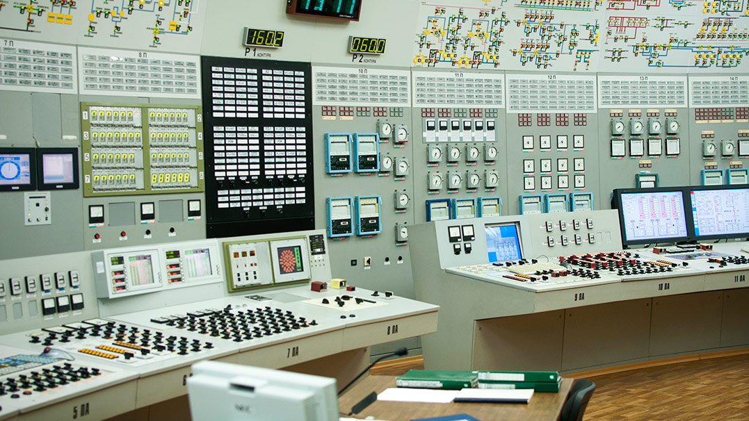 How to record training sessions on the nuclear plant control simulator image