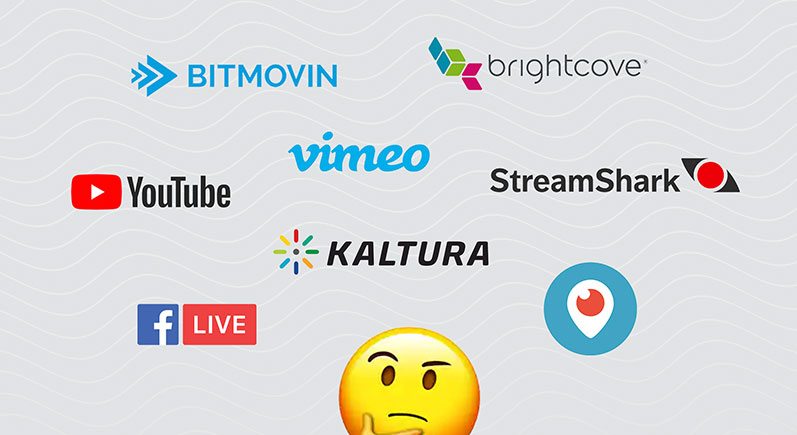 Things to consider when choosing a live streaming platform image