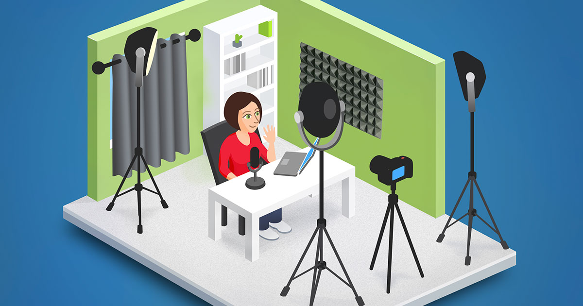 5 steps to creating the ultimate lecture recording studio image