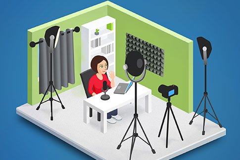 lecture capture studio