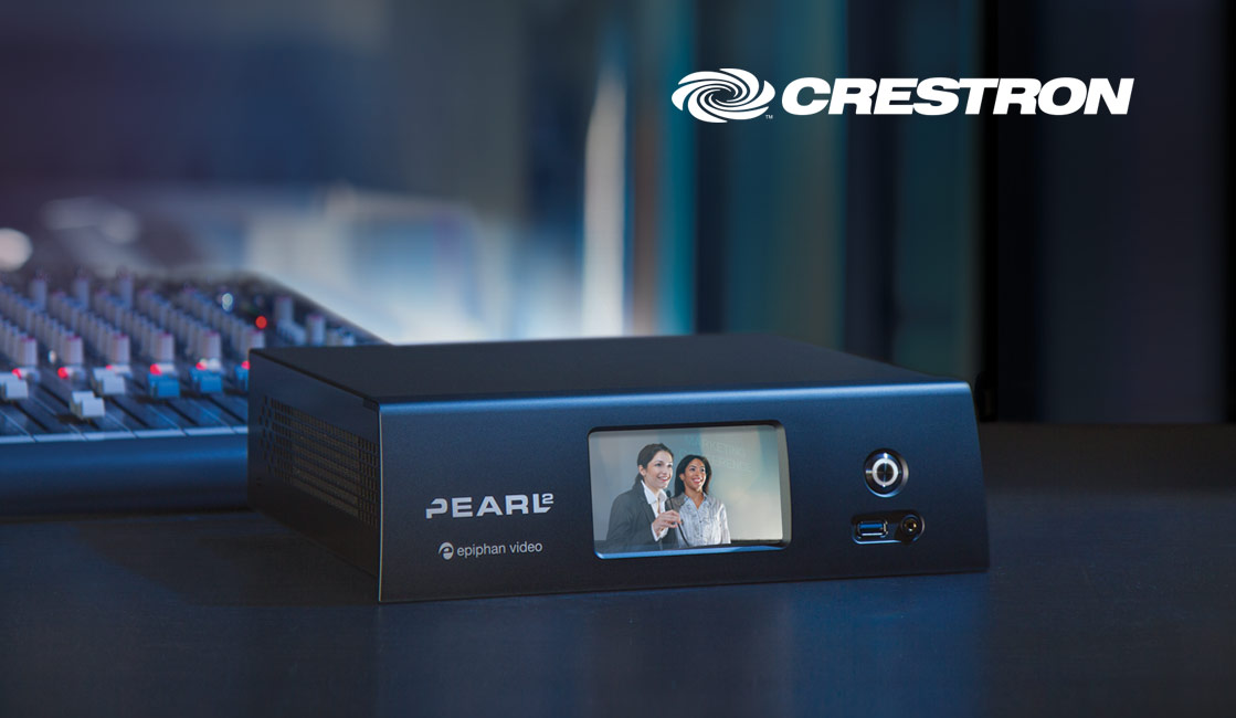 Crestron Control Module for the Pearl family