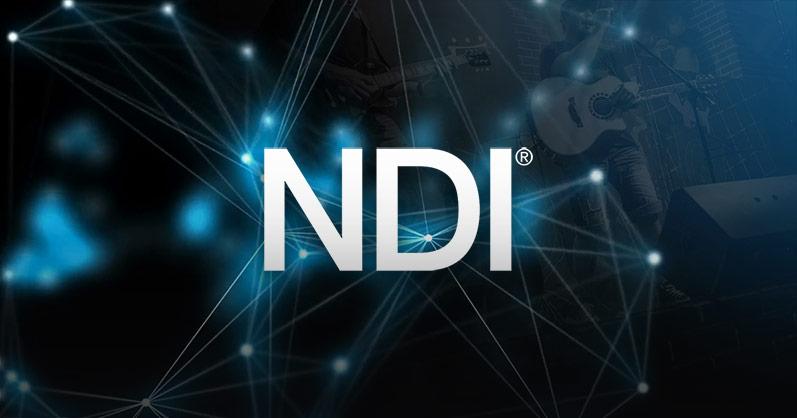 NDI® and NDI|HX for network video production image