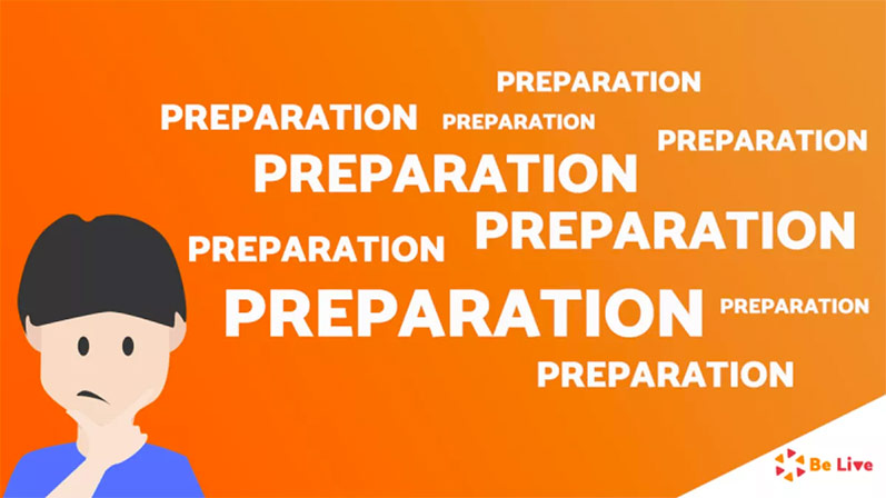 BeLive preparation illustration
