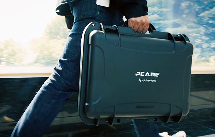 Pearl 2 in Carrying Case