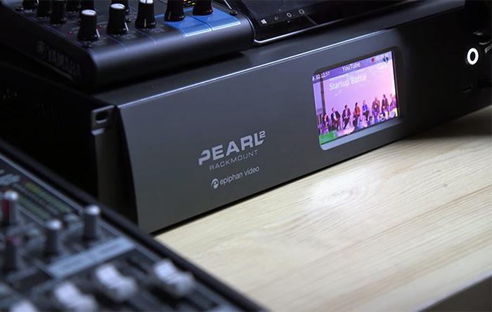 Pearl-2 Desktop with Mixer