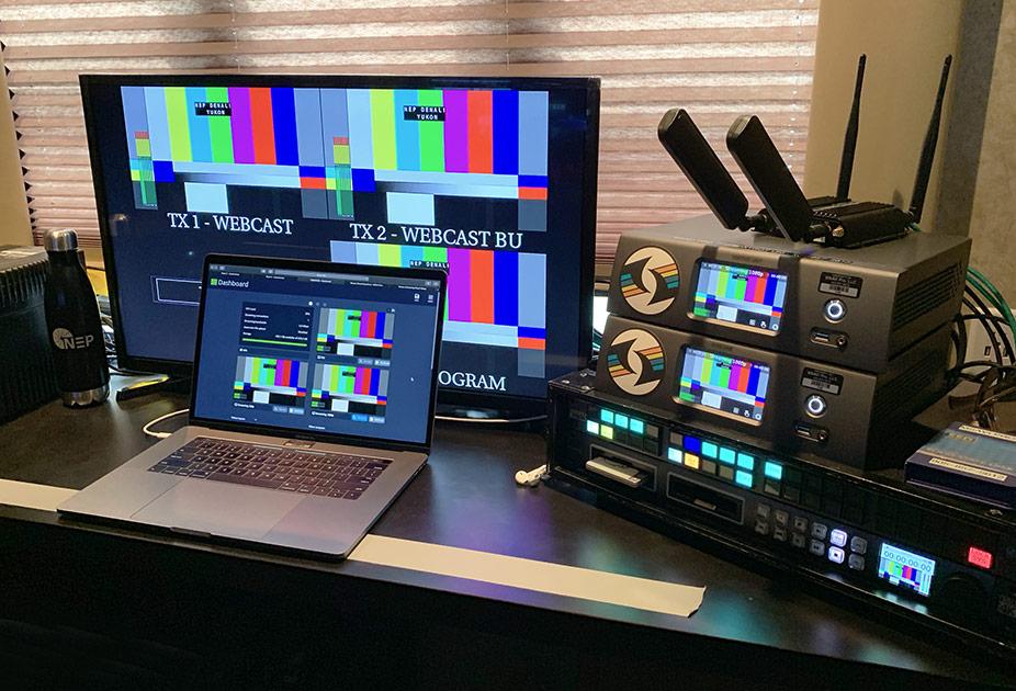 MSAVi PRO Pearl-2 set-up