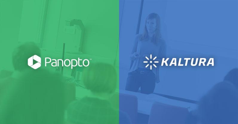 Panopto vs Kaltura image