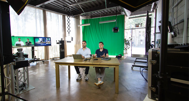 Guide to building a corporate video production studio image