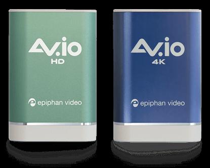 AV.io HD and 4K