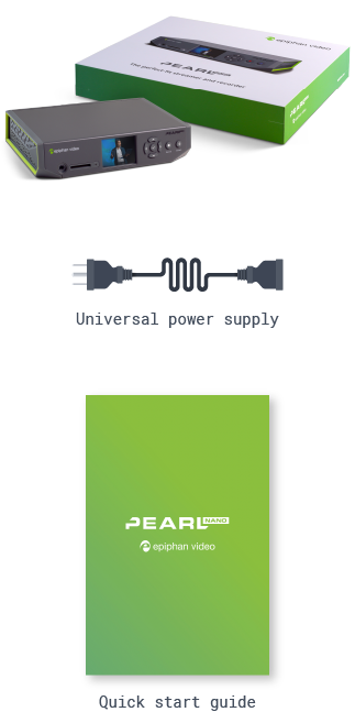 Pearl Nano -What's in the box