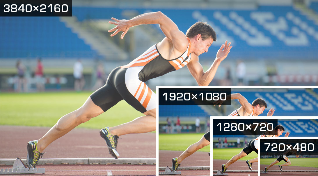 4K Scaling: make your video right for any bandwidth image