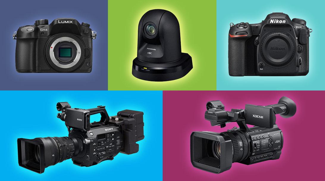 5 best 4K cameras for live production image