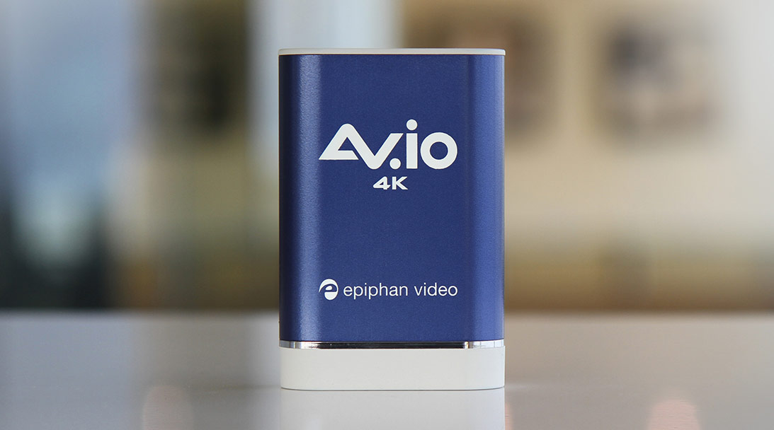 A look at the new AV.io 4K video capture card image