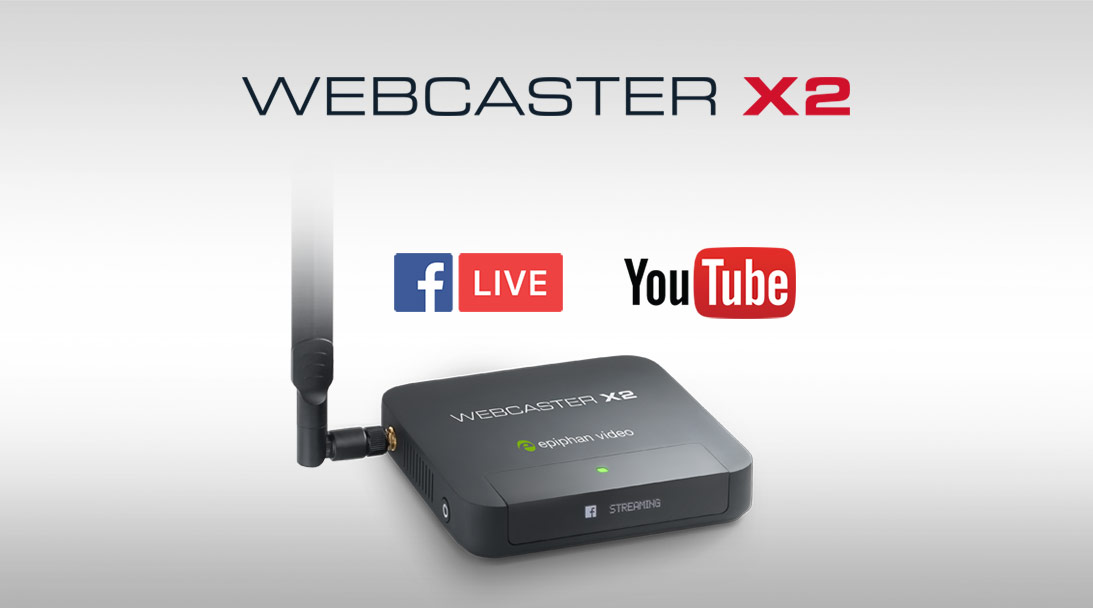 Easy video streaming in no time using Webcaster X2 image