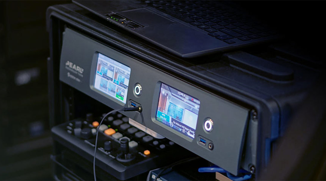 Easy ISO recording with Pearl Rackmount Twin image