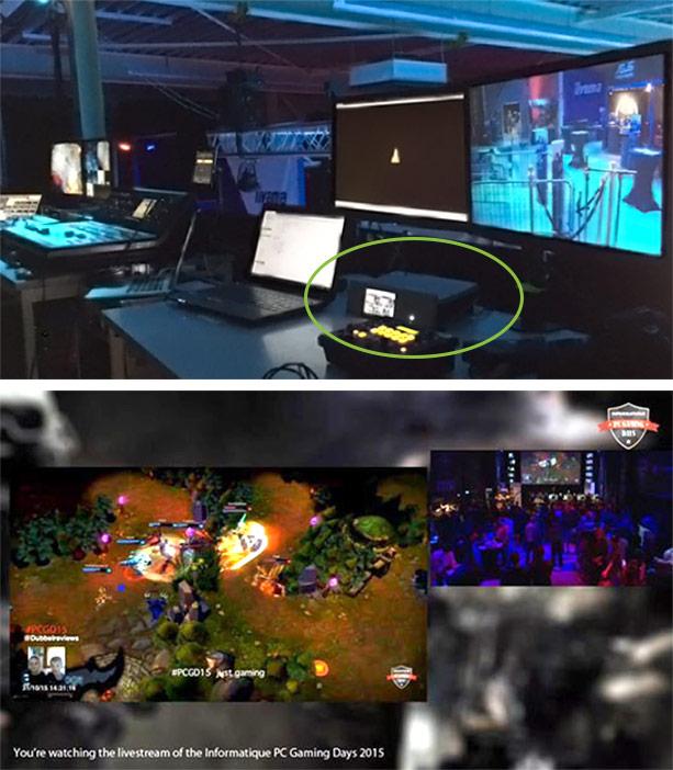 PC Gaming Days setup