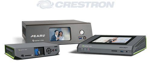 Crestron integration with Pearl