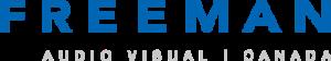 freeman logo blue