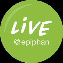 live at Epiphan logo