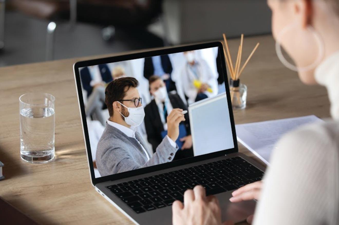 attending an event virtually