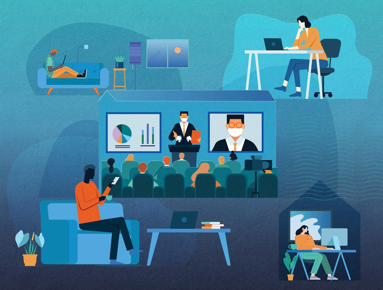 Five reasons virtual events are here to stay image