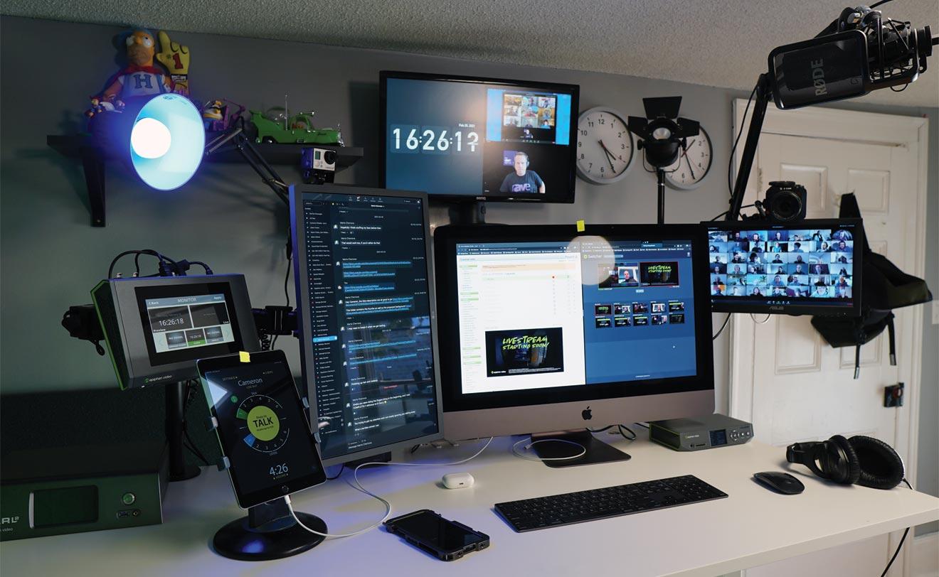 Remote producer workstation