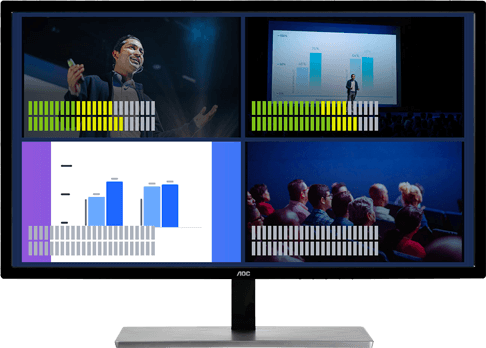 Quick signal-loss detection for effective confidence monitoring live broadcasts