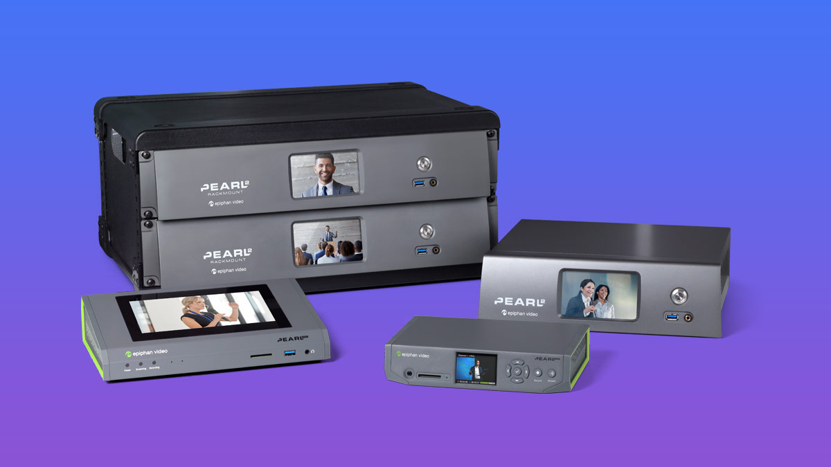 Epiphan Pearl hardware encoders: Product family overview