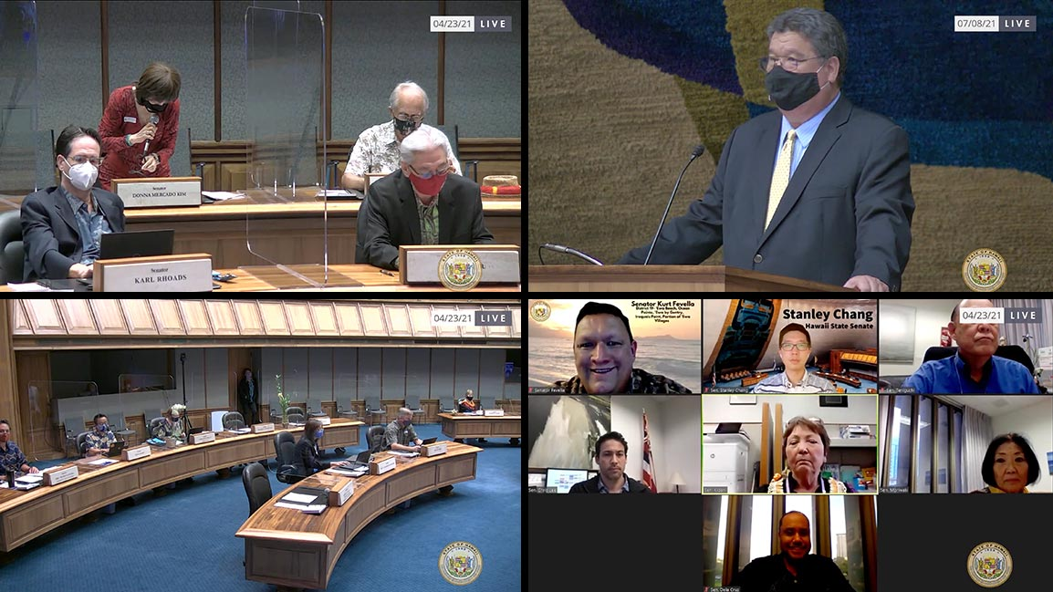 Hawaii State Senate live stream