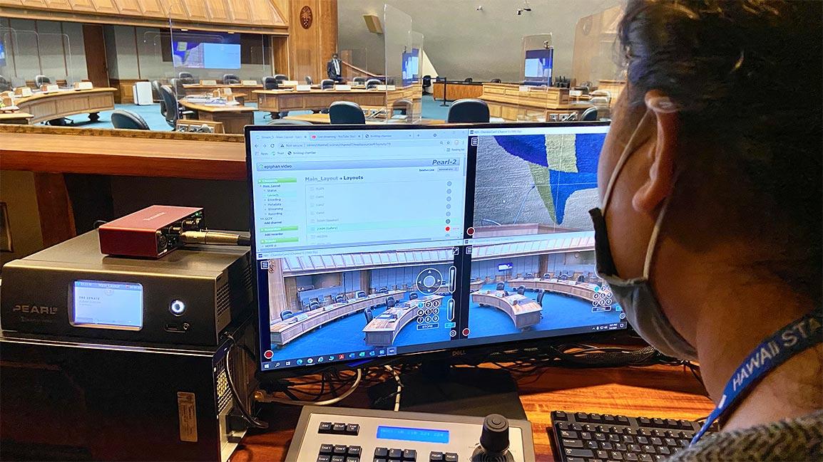 Hawaii State Senate uses Pearl-2