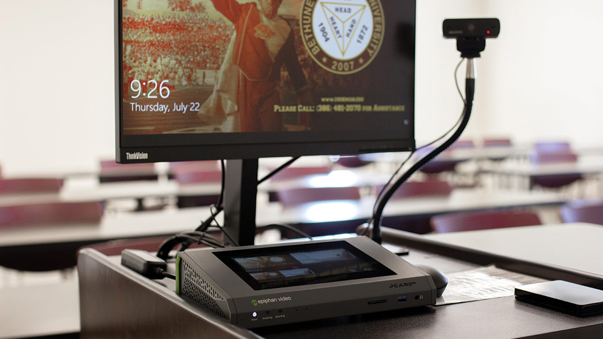 Pearl Mini enables smooth transition to distance learning at Bethune-Cookman University image