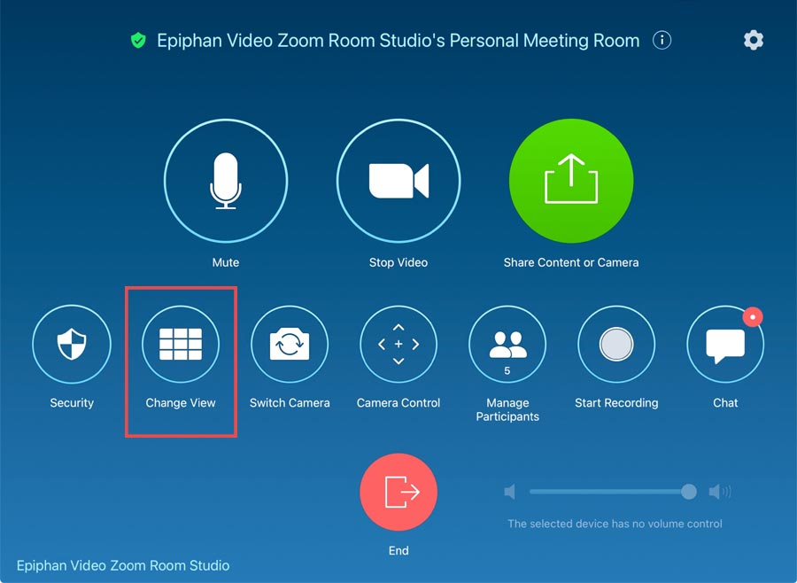 Adding NDI outputs in Zoom Rooms
