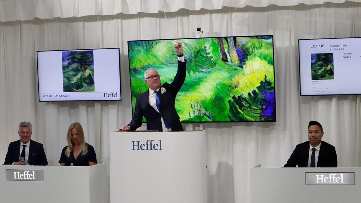 Pearl Nano SRT encoding powers hybrid auctions for Heffel image