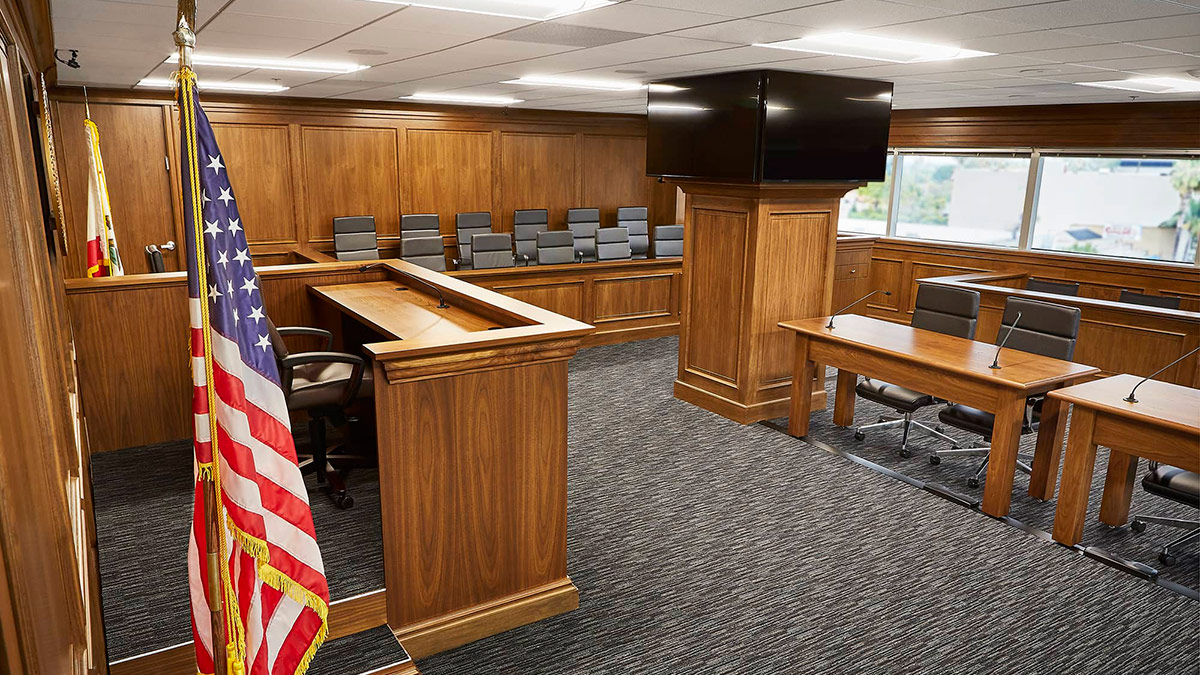 Building the world's most authentic mock-trial experience– enhanced with multi-camera video image